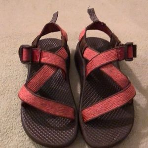 Girls Pink Chaco's